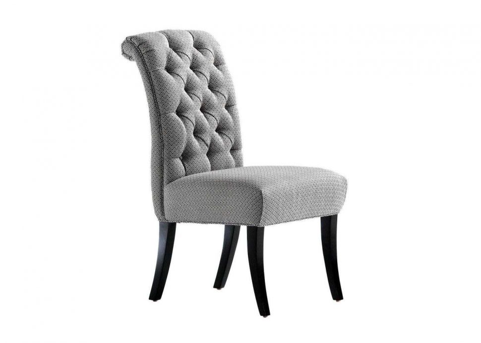 Gorgeous Grey Tufted Dining Room Chairs Great Chair Foxhunter New Linen Scoop Details Grey Tufted Dining