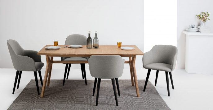 Gorgeous High Back Parson Dining Chairs Furniture High Back Dining Chairs Grey Fabric High Back Dining