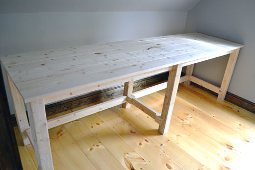 Gorgeous Home Built Desk A Beefy Post About How To Build A Beefy Desk Angies Roost