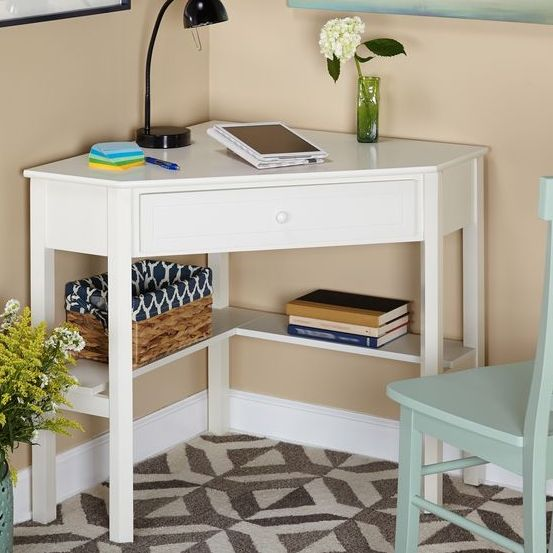 Gorgeous Home Desks For Small Spaces Inspiring Corner Computer Desks For Small Spaces 54 In Interior