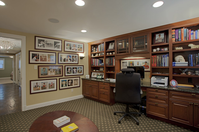 Gorgeous Home Office Desk And Bookcase Home Office Arrangement Brucall