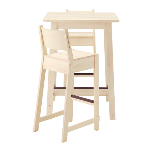 Gorgeous Ikea Bar Table Norrkernorrker Bar Table And 2 Bar Stools White Birchwhite