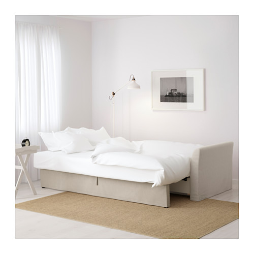 Gorgeous Ikea Bed And Sofa Holmsund Sleeper Sofa Nordvalla Beige Ikea