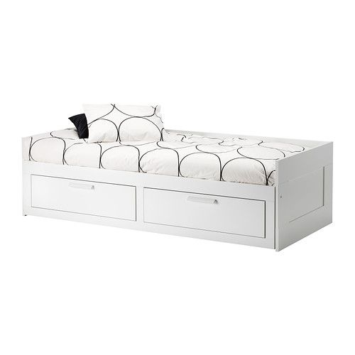 Gorgeous Ikea Double Bed With Storage Drawers Best 25 White Double Bed Frame Ideas On Pinterest Kids Double