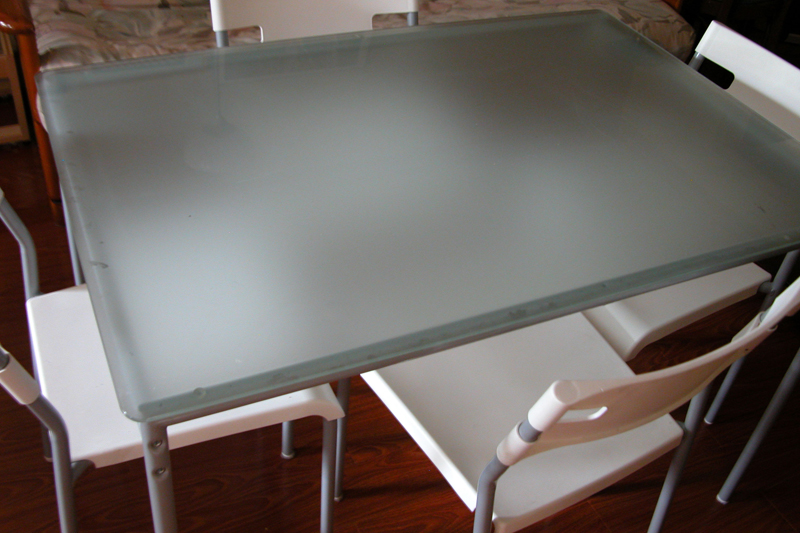 Gorgeous Ikea Glass Dining Table Set Ikea Dining Table Glass Top Home Design