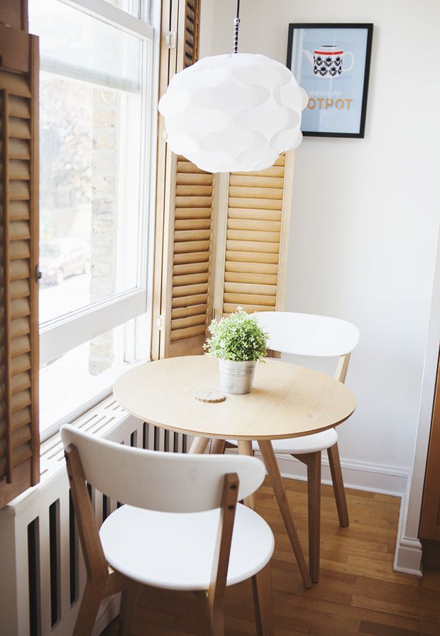 Gorgeous Ikea Kitchen Tables For Small Spaces Best 25 Small Round Kitchen Table Ideas On Pinterest Small