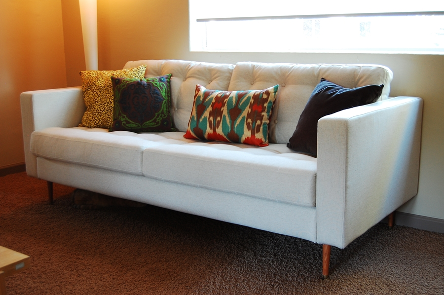 Gorgeous Ikea Mid Century Couch Addicted To Ikea Hacks The Anti June Cleaver