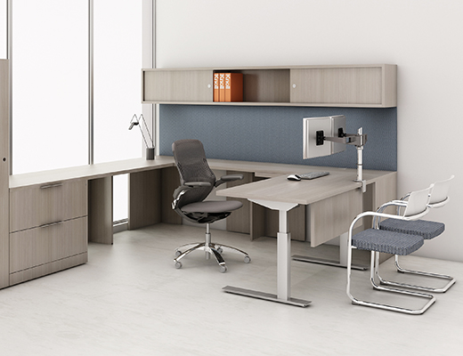 Gorgeous Knoll Office Desk Tone Height Adjustable Tables Knoll