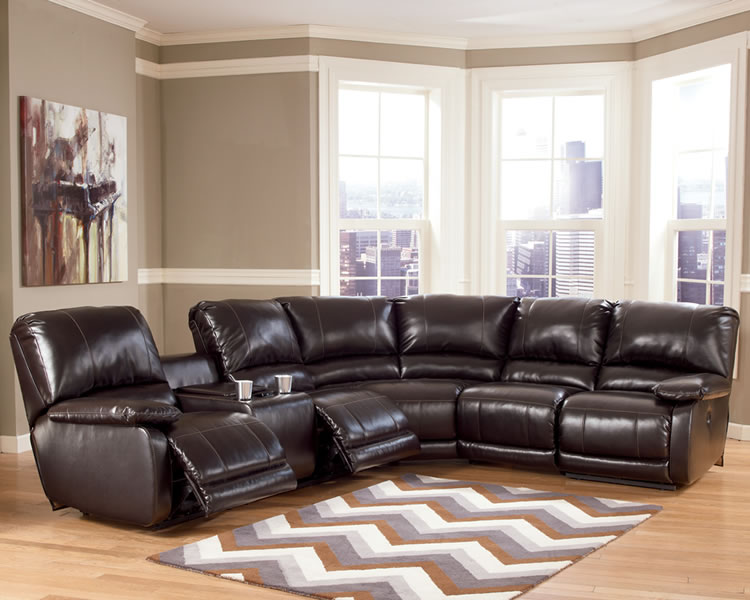 Gorgeous L Couch With Recliner Reclining Sectional Brown Jen Joes Design How A Reclining
