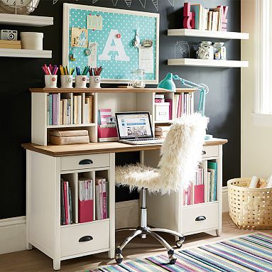 Gorgeous Large Desk With Storage 34 Best Pottery Barn Teen Images On Pinterest Barn Loft Beach