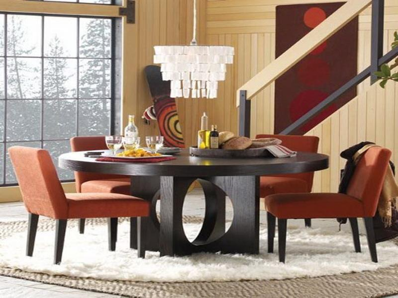 Gorgeous Large Modern Dining Room Tables Round Dining Room Table Furniture Mommyessence