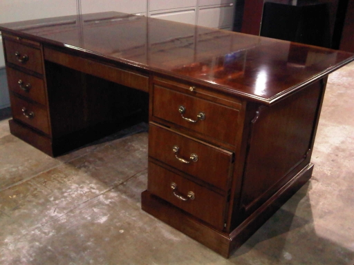 Gorgeous Large Wooden Office Desk Very Nice Wood Desk And Credenza Inyouroffice