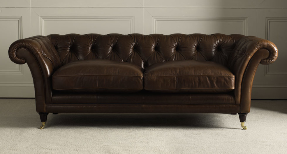 Gorgeous Laura Ashley Leather Sofa Made To Order Sofas Hudson Leather Range Laura Ashley
