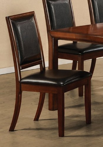 Gorgeous Leather Back Dining Chairs Leather Backed Dining Chairs Whereibuyit