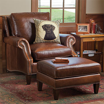 Gorgeous Leather Chair And Ottoman Leather Chair And Ottoman Set The Most Comfortable Leather Chair