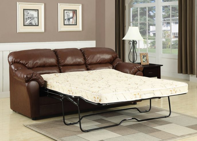 Gorgeous Leather Pull Out Sofa Bed Bedroom Furniture Sets Sofas And Sofa Beds Leather Couch Pull