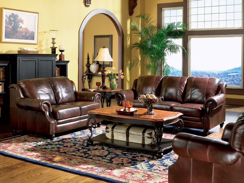 Gorgeous Leather Sofa And Loveseat Majestic Traditional Brown Genuine Leather Sofa Couch Loveseat