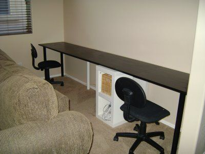 Gorgeous Long Computer Desk For Two Marvelous Long Computer Desk Alluring Small Office Design Ideas