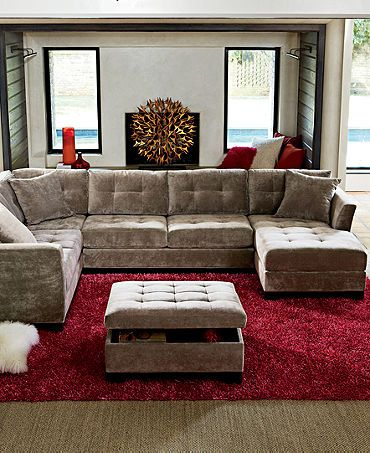 Gorgeous Microfiber U Shaped Sectional Best 25 U Shaped Sectional Ideas On Pinterest U Shaped Couch U