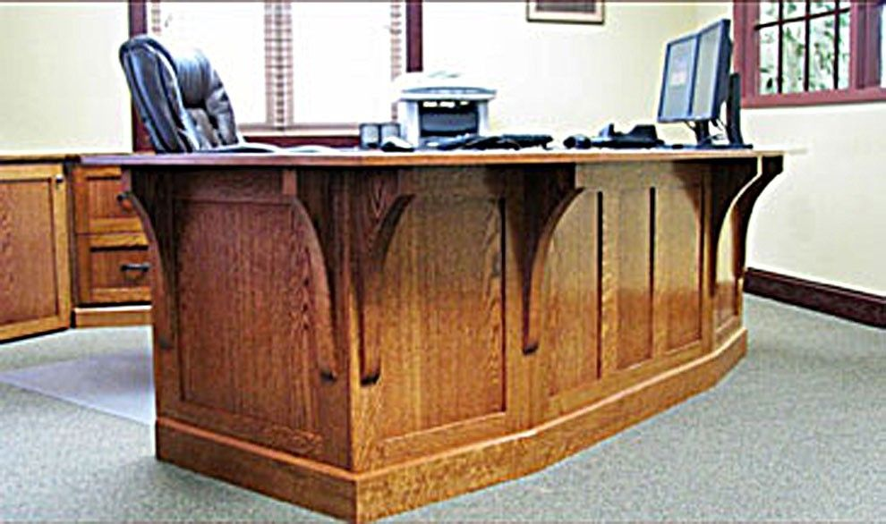 Gorgeous Mission Style Furniture Hand Made Mission Style White Oak Office Furniture The