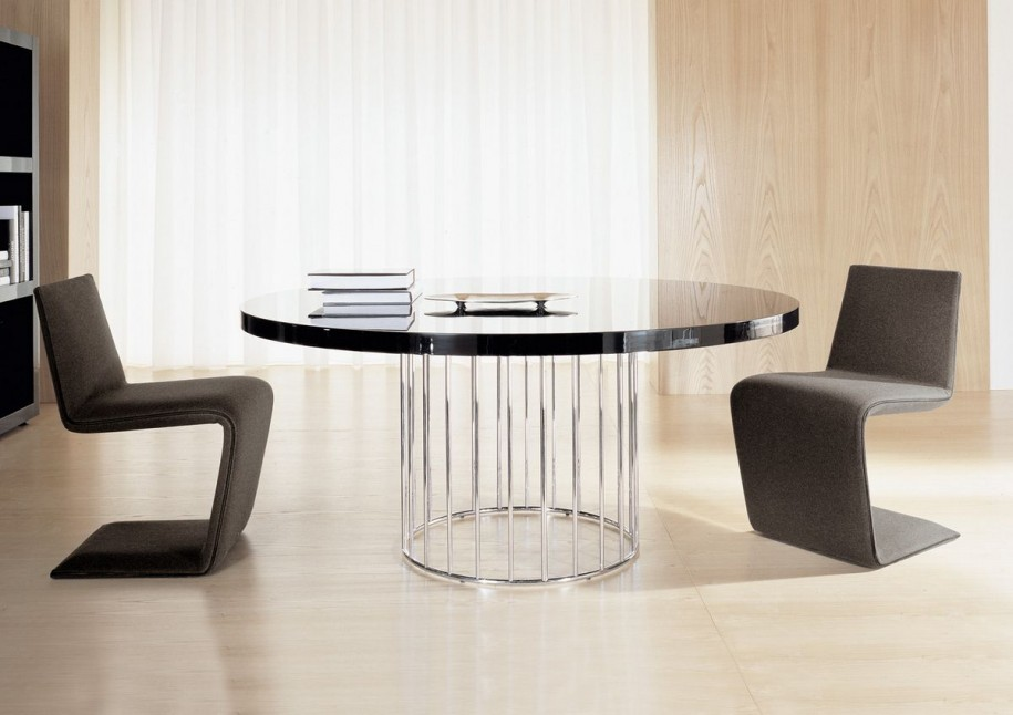 Gorgeous Modern Round Kitchen Table Modern Round Kitchen Table Home Design Ideas And Pictures Norma