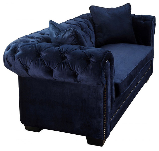 Gorgeous Navy Blue Velvet Chaise Lounge Lovable Blue Chaise Lounge Norwalk Navy Velvet Sofa Midcentury