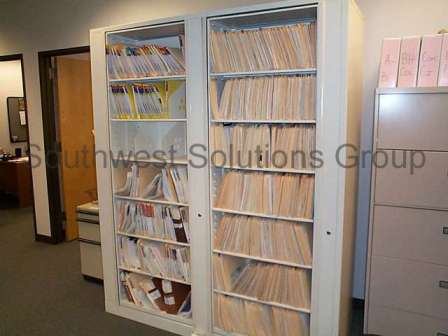 Gorgeous Office Filing Shelves Spinning Rotary File Cabinets Revolving Two Sided Media Storage