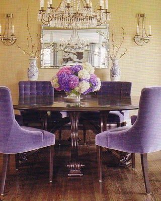 Gorgeous Purple Dining Chairs Wonderful Decoration Purple Dining Room Chairs Pleasant Design