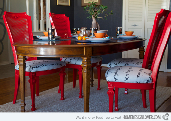 Gorgeous Red Upholstered Dining Room Chairs 15 Dining Room Designs With A Red Touch Home Design Lover