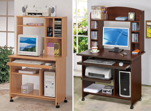 Gorgeous Small Computer Desk With Shelves Small Desk With Shelves Whereibuyit