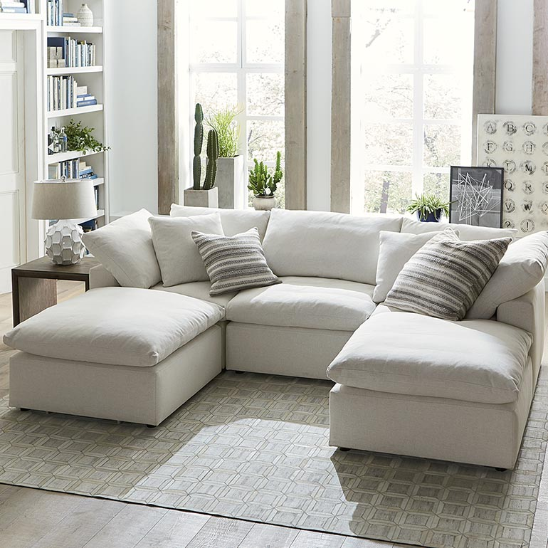 Gorgeous Small Modular Sofa Sectionals A Sectional Sofa Collection With Something For Everyone