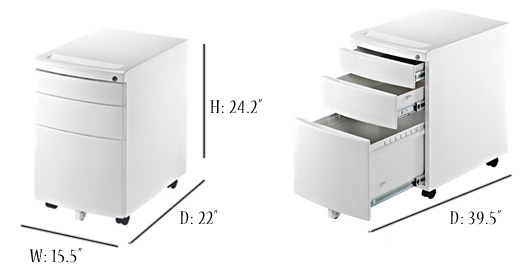 Gorgeous Small Office Cabinets With Drawers Reo Smart 215 3 Drawer Mobile Filing Cabinet White Adjustable
