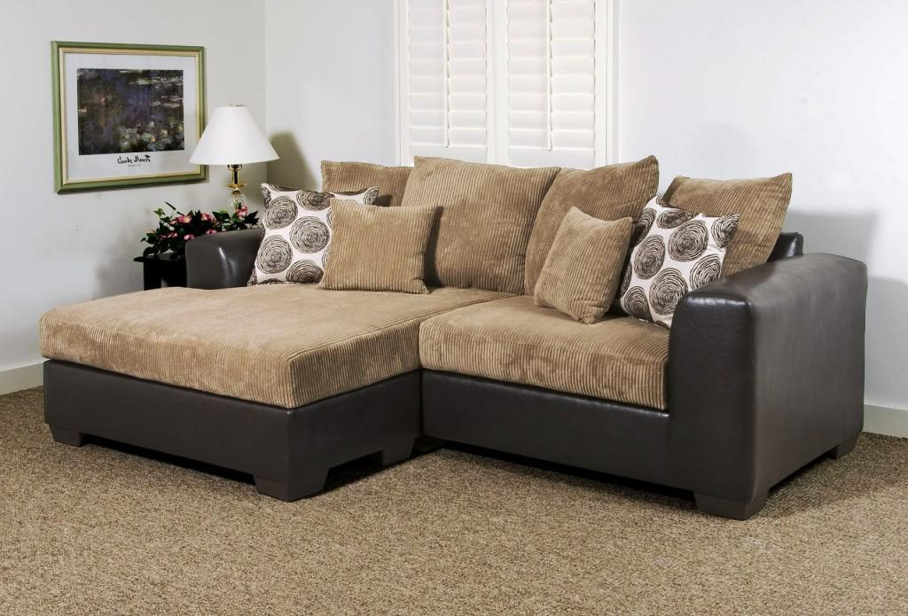 Gorgeous Small Sectional Sofa With Chaise Small Sectional Sofa With Chaise Pillow Prefab Homes Cozy