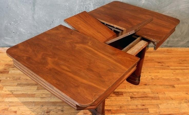 Gorgeous Square Dining Table With Leaves Square Dining Table With Leaf Extension For 8 Room 60 Inch Seats