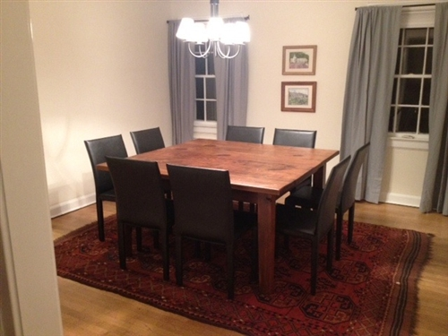 Gorgeous Square Dining Table With Leaves Square Tables Built From Reclaimed Wood Ecustomfinishes