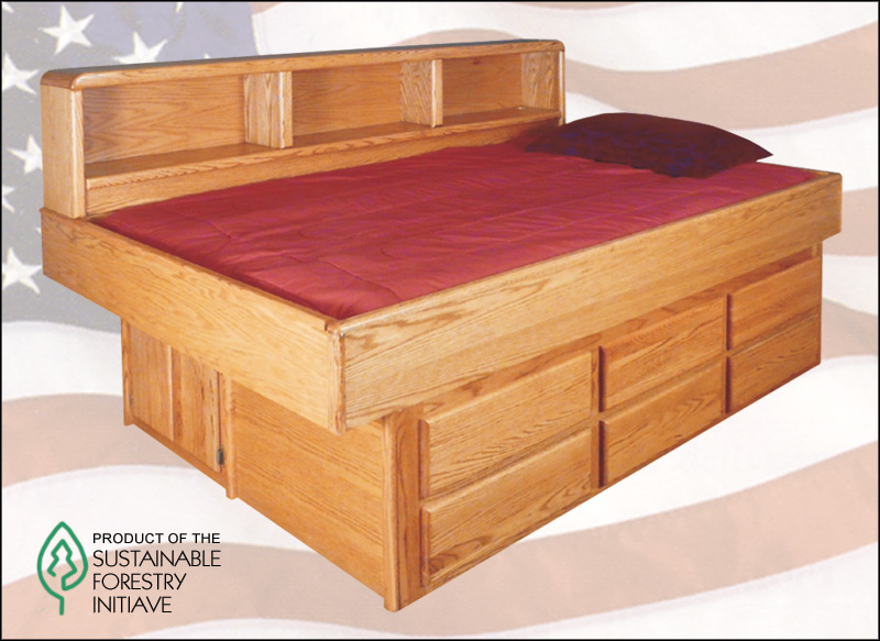 Gorgeous Super Single Waterbed Sheets Waterbed Oak Youth Bed With 6 Drawer Ped Ss Super Single