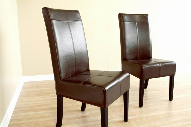 Gorgeous Tall Back Leather Dining Chairs High Back Full Leather Dining Chair 19900