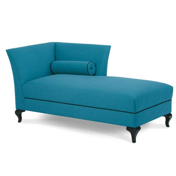 Gorgeous Teal Blue Chaise Lounge Blue Chaise Lounge Upper Living
