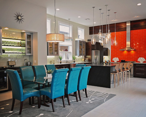 Gorgeous Turquoise Dining Room Chairs Ingenious Inspiration Ideas Turquoise Dining Room All Dining Room