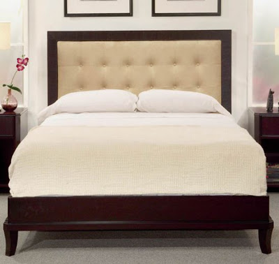 Gorgeous Upholstered Wood Bed Frame Tutorial For Diy Contemporary Upholstered Headboard With Wood Frame