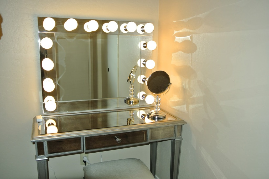 Gorgeous Vanity Makeup Desk With Mirror High Quality Of Vanity Makeup Table With Lights
