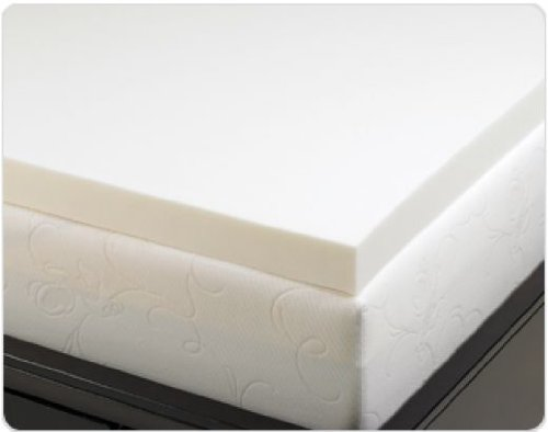 Gorgeous Visco Memory Foam Mattress Topper 4 Pound Density Visco Elastic Memory Foam Mattress Topper