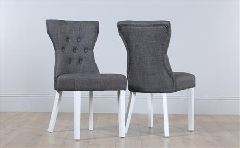 Gorgeous White Fabric Dining Chairs Fabric Dining Chairs Furniture Choice
