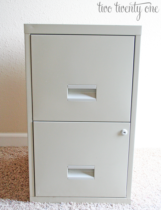 Gorgeous White Filing Cabinets For Home Stenciled File Cabinet Two Twenty One