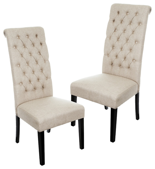 Gorgeous White Leather High Back Dining Chairs Chairs Stunning White Tufted Dining Chairs White Tufted Dining