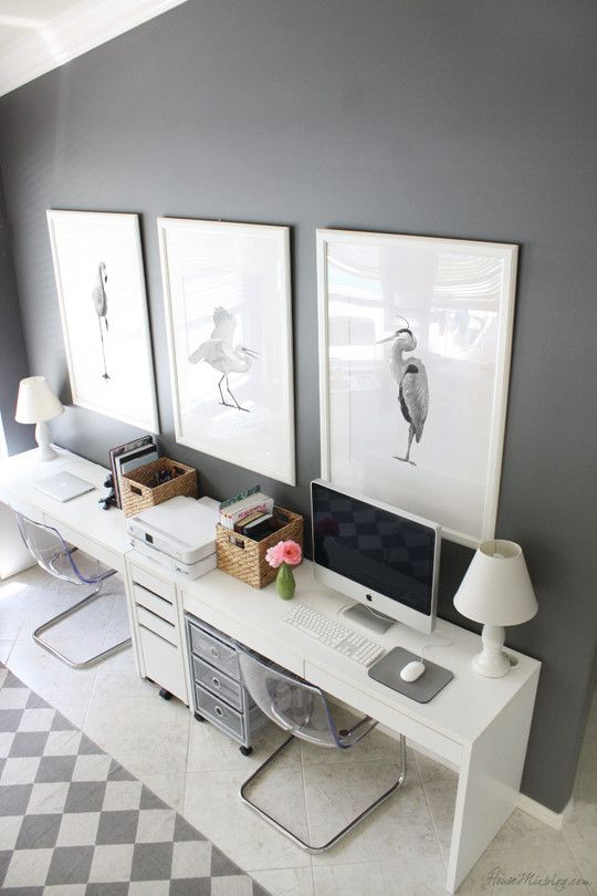 Gorgeous White Office Furniture Ikea Best 25 Ikea Home Office Ideas On Pinterest Home Office Office