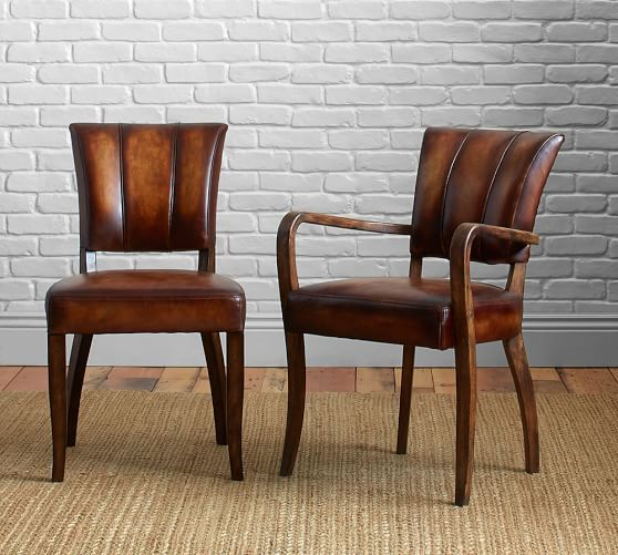 Gorgeous Wooden Kitchen Chairs With Arms Best 25 Leather Dining Chairs Ideas On Pinterest Dining Chairs