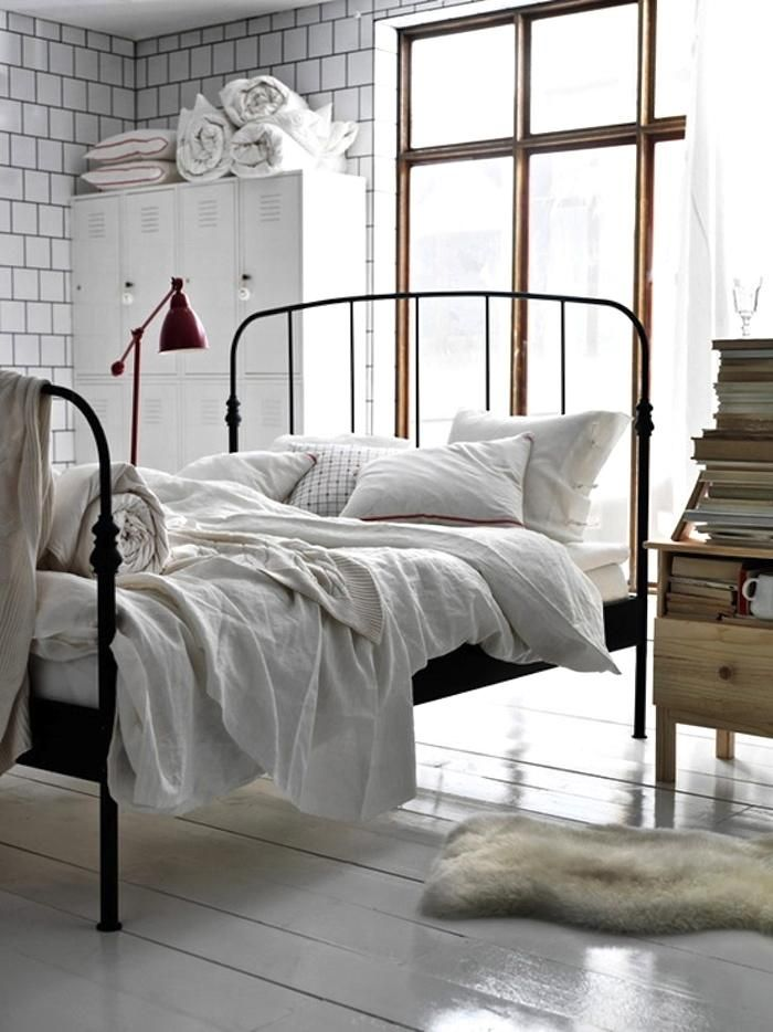 Gorgeous Wrought Iron Bed Frame Best 25 White Iron Beds Ideas On Pinterest Wrought Iron Beds
