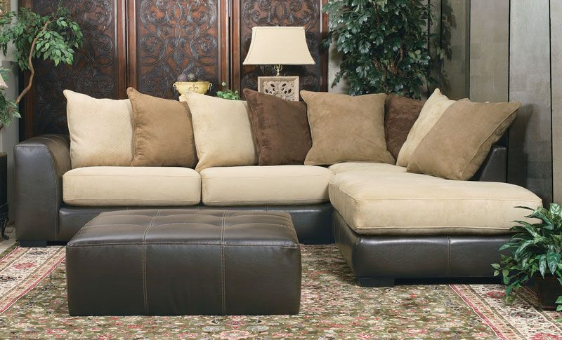 Great 2 Piece Sectional Couch 2 Piece Sectional Sofa Grand Home Furnishings K217 Trinity