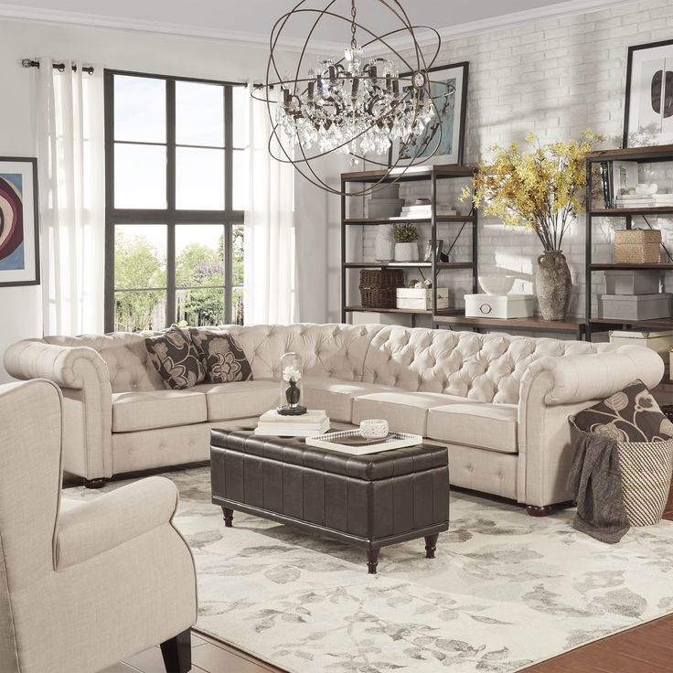 Great 5 Seat Sectional Sofa Best 25 Tufted Sectional Sofa Ideas On Pinterest Tufted